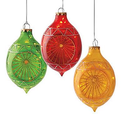 oversized ornaments