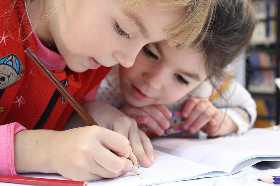 Children are nearing School Age