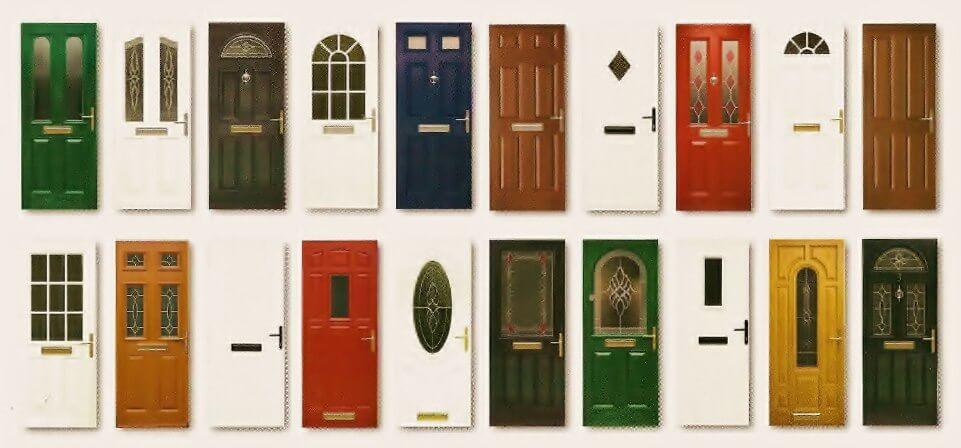 Different doors