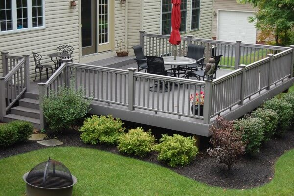 Deck of a home