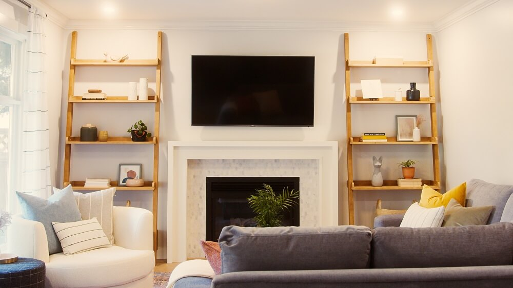 Bright and updated living room