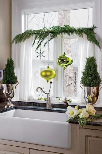 Large ornaments for window displays