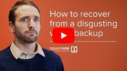 Thumbnail of the What To Do After a Gross Sewer Backup Occurs In Your Home video