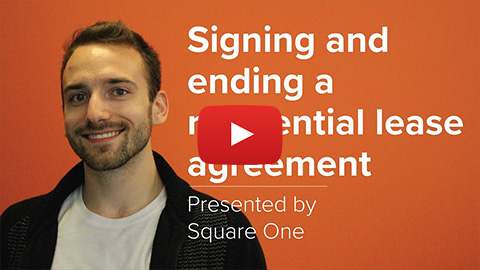 Thumbnail of the Signing and Ending Residential Lease video